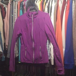 Lululemon ruffle zipper jacket 🍋
